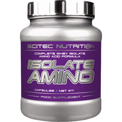 Scitec Nutrition Isolate Amino 500 kaps