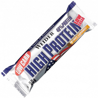 Weider Low Carb High Protein Bar 50 g