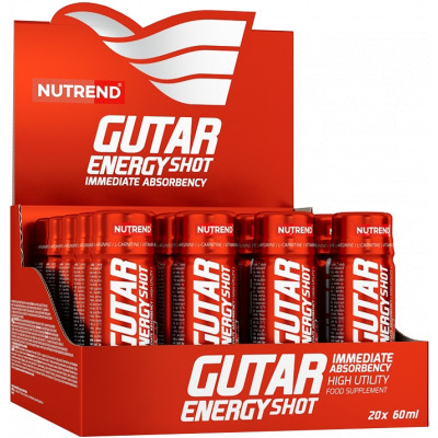 Nutrend Gutar Energy Shot BOX 20 x 60 ml