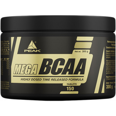 Peak Performance Mega BCAA 150 tbl