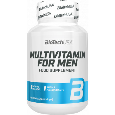 BioTech USA Multivitamin for Men 60 tbl