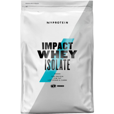 MyProtein Impact Whey Isolate 1000 g - Natural příchuť