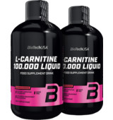 BioTech USA 2x L-Carnitine 100.000 Liquid 500 ml