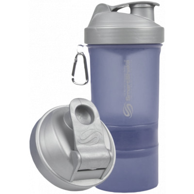 "SmartShake Metallic Edition 600 ml ""Blue-Silver"""