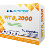 ALLNUTRITION Vitamin D3 2000 60 kaps