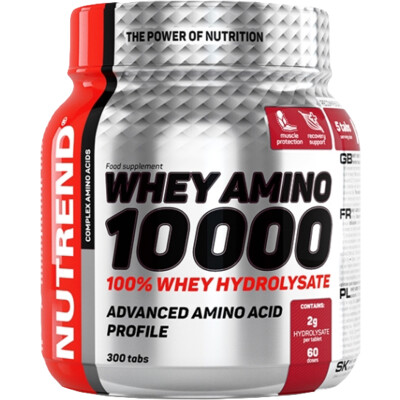 Nutrend Whey Amino 10000 300 tbl