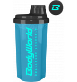 BodyWorld Shaker Challenge Yourself 700 ml azurová modrá