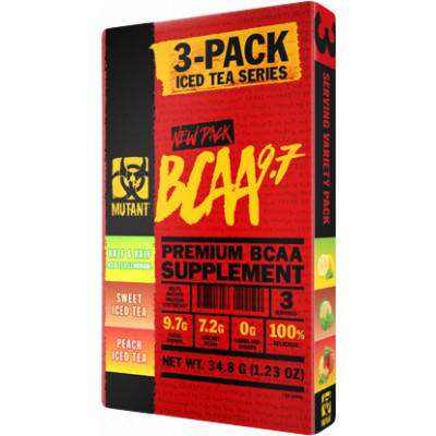 Mutant Mutant BCAA 9.7 3-PACK Iced Tea Series 34,8 g
