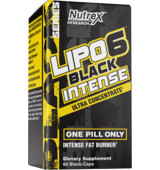 Nutrex Lipo 6 Black Intense Ultra Concentrate 60 kaps
