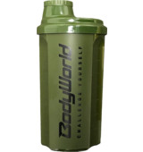 BodyWorld Shaker Challenge Yourself 700 ml vojenská zelená