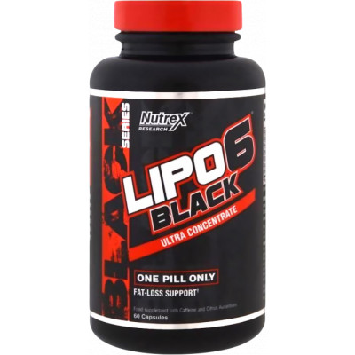 Nutrex Lipo 6 Black Ultra Concentrate 60 kaps
