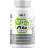 Aone Nutrition D3 + K2 Winter Vitamins 200 tbl