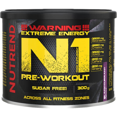 Nutrend N1 Pre-Workout 300 g
