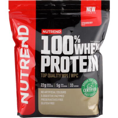 Nutrend 100% Whey Protein New 1000 g