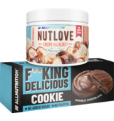 ALLNUTRITION NUTLOVE 500 g + ZDARMA F**king Delicious Cookie 128 g
