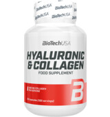BioTech USA Hyaluronic & Collagen 100 kaps