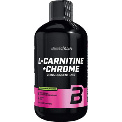 BioTech USA L-Carnitine 35.000 mg + Chrome 500 ml