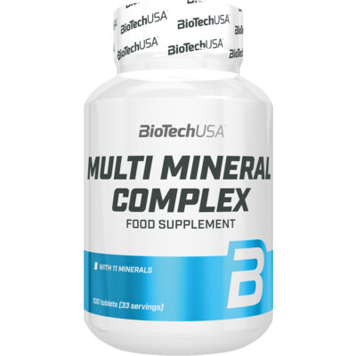 BioTech USA Multimineral Complex 100 tbl