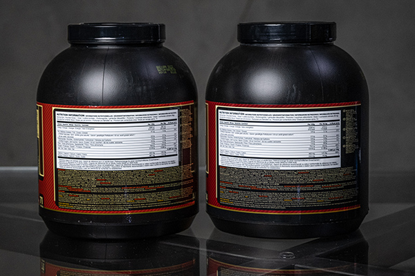 Optimum Nutrition Gold Standard Whey FAKE vs ORIGINAL etiketa