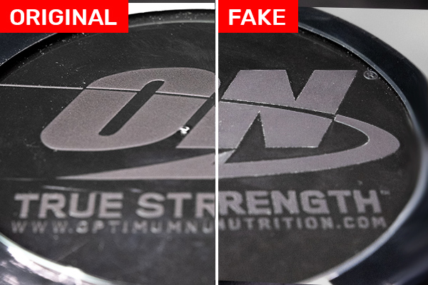 Optimum Nutrition Gold Standard Whey FAKE vs ORIGINAL viečko