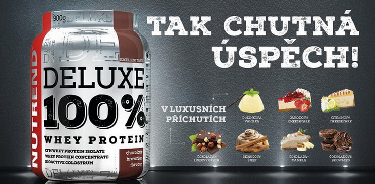 Nutrend 100% deluxe whey